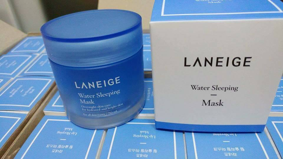 review mặt nạ ngủ laneige