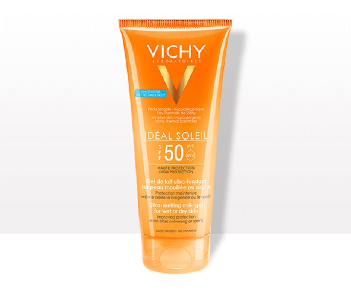 Review kem chống nắng Vichy Ideal Soleil Ultra- Melting Milk Gel