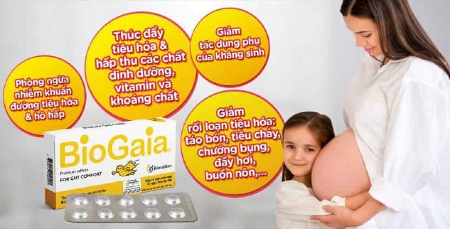 Tác dụng của Biogaia Protectis For Gut Comfort